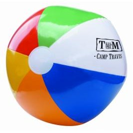 "16"" 6 Color Beach Ball"