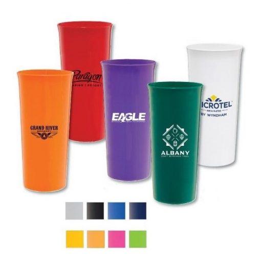 16 Oz. Reusable Plastic Tower Cup