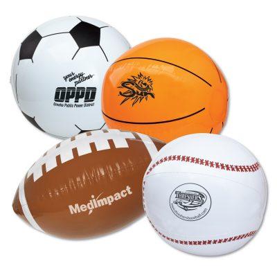 """16"""" Sport Beach Balls - Football"""