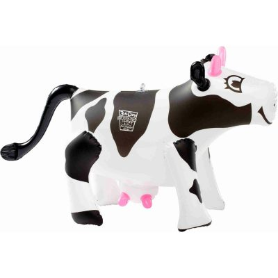 "17"" Cow Inflatable Zoo Animal"