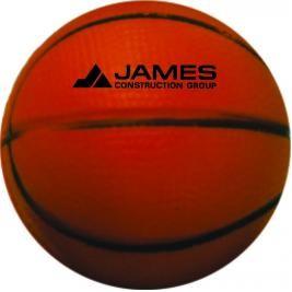 """2 1/2"""" Foam Basketball Stress Reliever"""