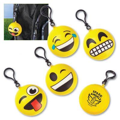"""2-3/4"""" Squishy Emoji Clip-Ons"""