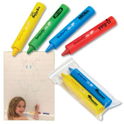 2-Pack Bathtub Crayon Sets in Polybag