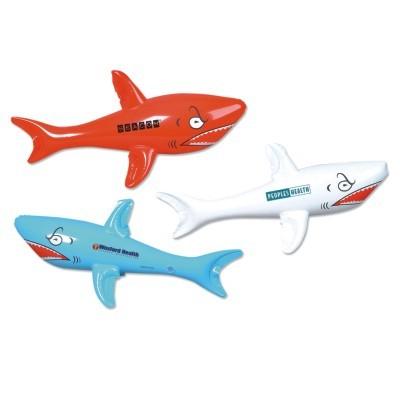 "23"" Shark Inflatable Zoo Animal"