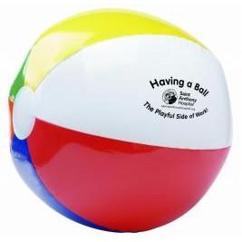 "24"" 6 Color Beach Ball"