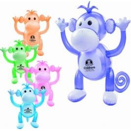 "24"" Monkey Inflatable Zoo Animal"