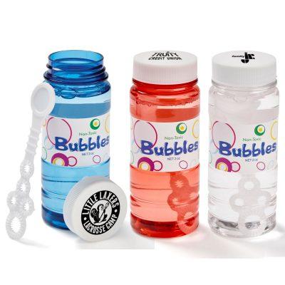 4 Oz. Translucent Bubbles with Cap Imprint