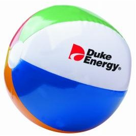 "6"" 6 Color Beach Ball"