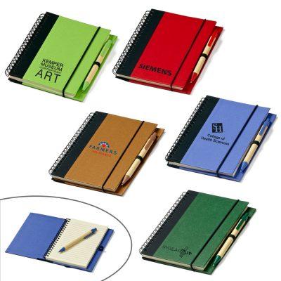 Eco Hardcover Journal & Pen