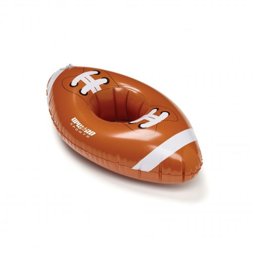 "Inflatable 11"" Football Floating Coaster"