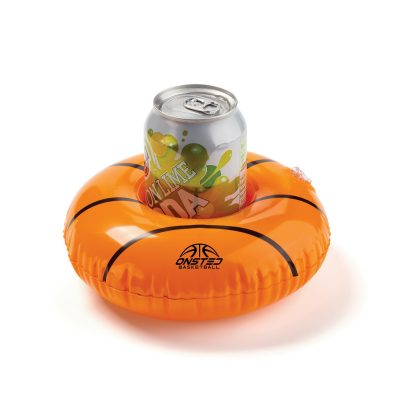 "Inflatable 7"" Basketball Floating Coaster"