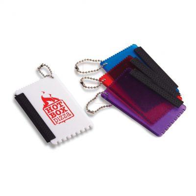Mini Ice Scraper Keychain w/ Squeegee