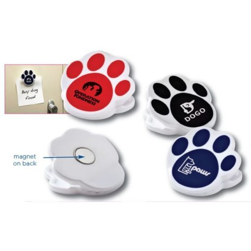 Pet Paw Magnetic Clip