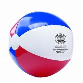 Red/White/Blue Beach Ball