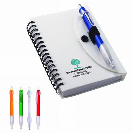 Spiral Notebook & Cardinal Pen