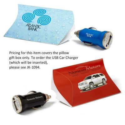 Pillow Gift Box for USB Car Charger