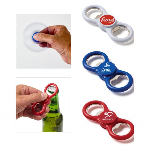 Two-Way Fidget Spinner Bottle Opener