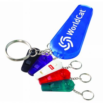 Whistle Keychain w/ LED