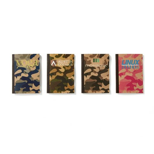 Mini Camouflage Notebook