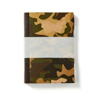 Mini Camouflage Notebook Set