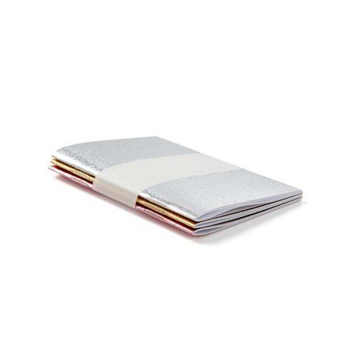 Mini Glitter Notebook Set