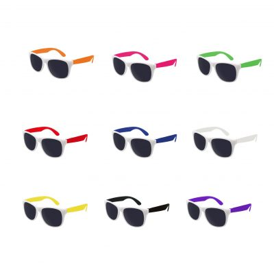 White Trim Sunglasses