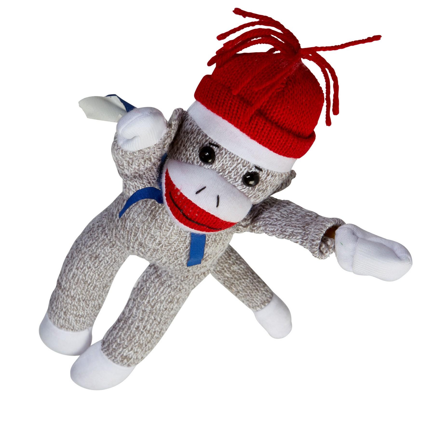 Flying Shrieking Sock Monkey Plush Stuffed Animal Buy Jornik