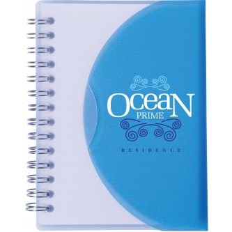 "Two-Tone 4""x5"" Spiral Notebook"