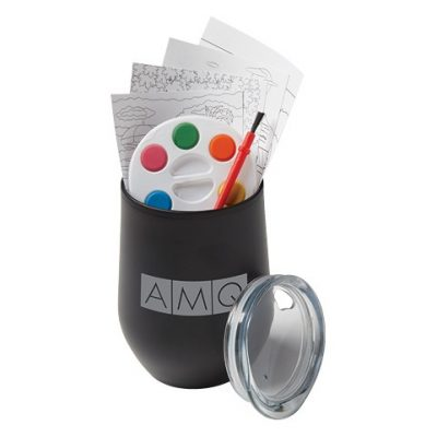Adult Paint Set and Wine Tumbler Cups