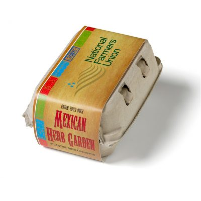 Grow Your Own Mexican Garden Kit w/Seeds