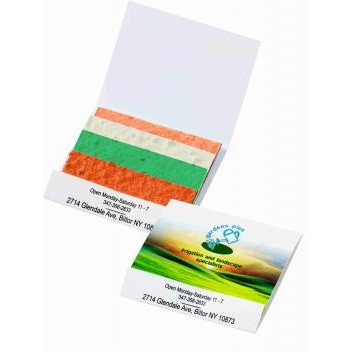 Seed Paper Matchbook Color Stack Herb Patch