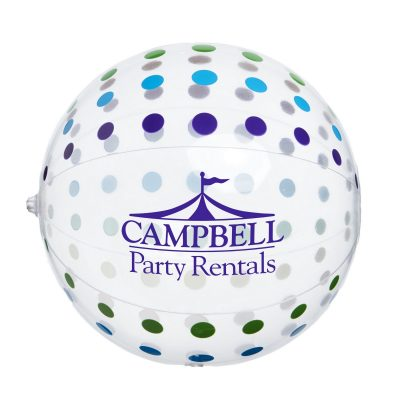 Polka Dot Beach Ball
