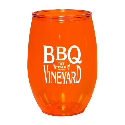 PET 16 oz. Stemless Wine Glass