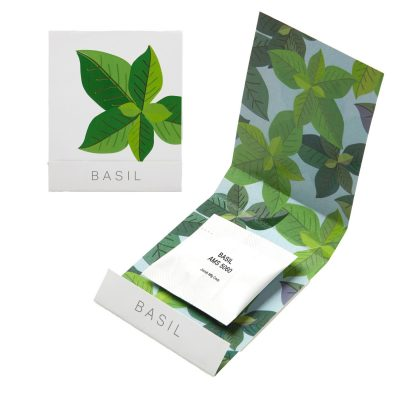 Basil Seed Matchbook