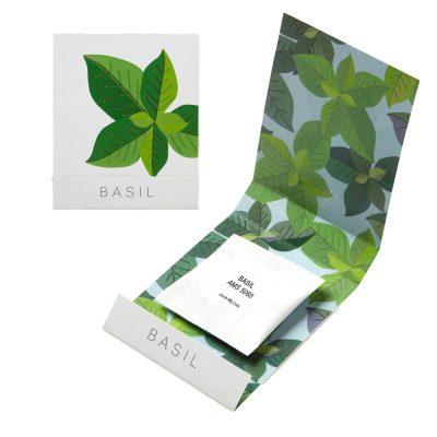 Basil Seed Matchbook