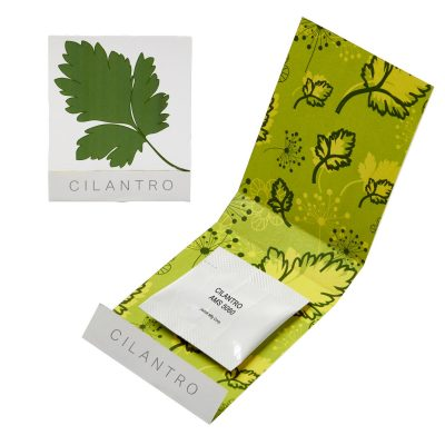 Cilantro Seed Matchbook