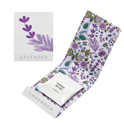 Lavender Seed Matchbook