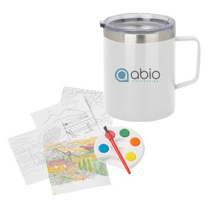 Adult Paint Set and Coffee Mug