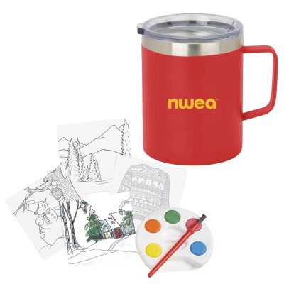 Holiday Adult Paint Set and Coffee Mug