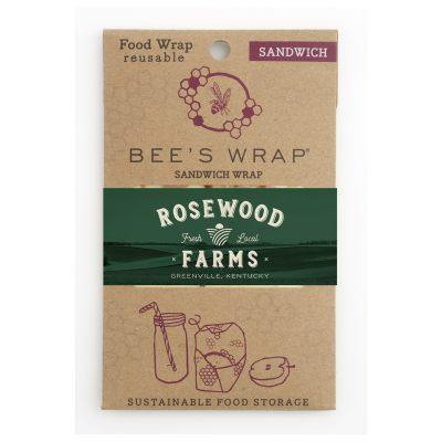 "Beeswrap Large Sandwich with tie 13"" x 13"""