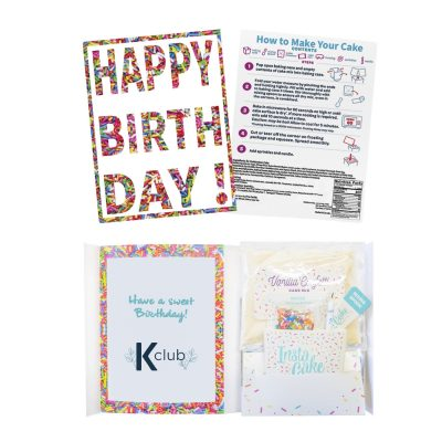 InstaCake Birthday Cake in a Card
