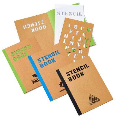 "Stencil Book (5-3/4"" x 8-1/4"")"